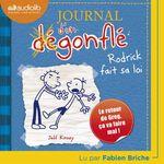 Vente AudioBook : Journal d'un dégonflé 2 - Rodrick fait sa loi  - Jeff Kinney