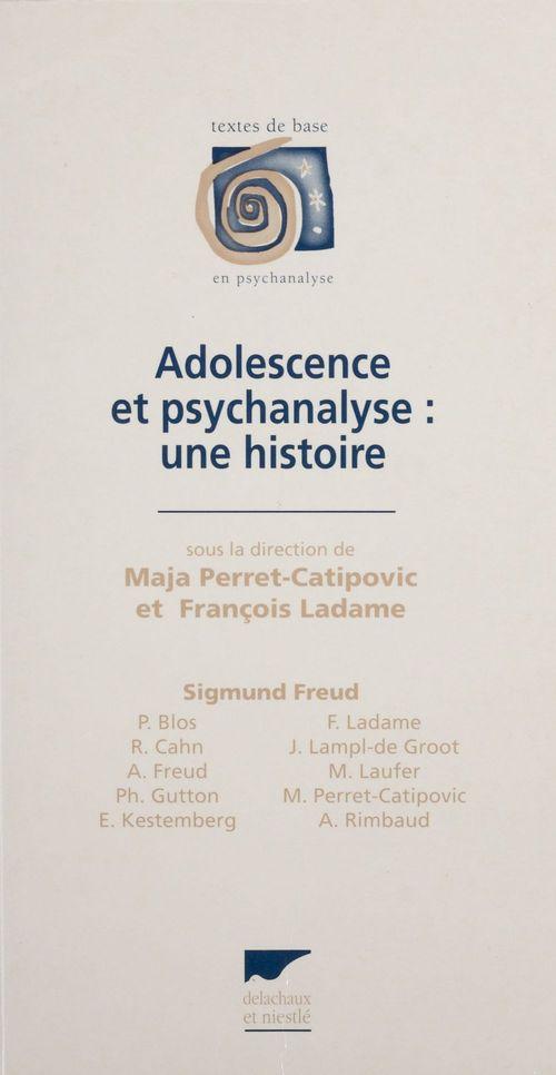 Adolescence et psychanalyse : une histoire tdb