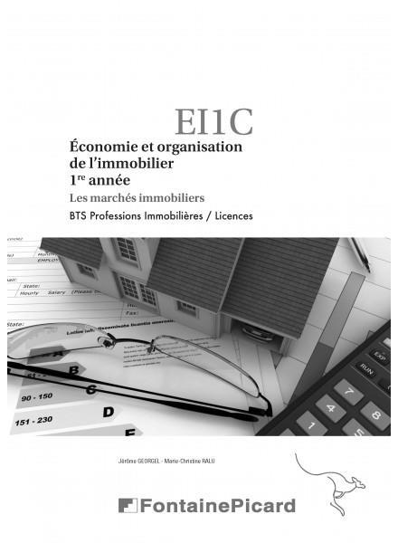 économie et organisation de l'immobilier ; BTS professions immobilières, licences ; corrigé ; les marchés immobiliers
