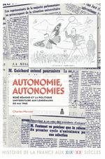 Autonomie, autonomies  - Charles Mercier