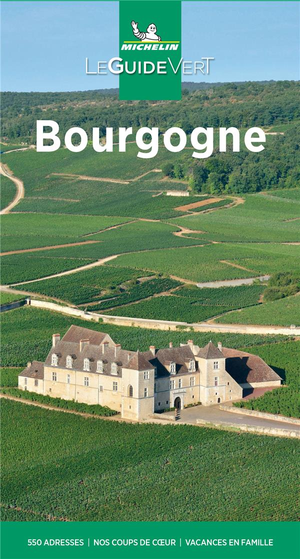 Le guide vert ; Bourgogne (édition 2021)