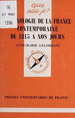 Chronologie de la France contemporaine de 1815 à nos jours