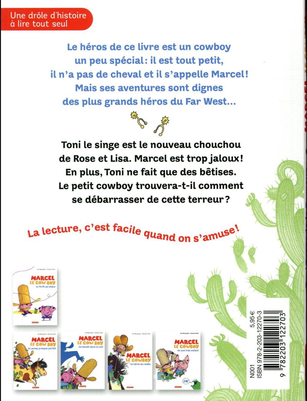 Marcel le cowboy t.6 ; Toni Tornado la Terreur
