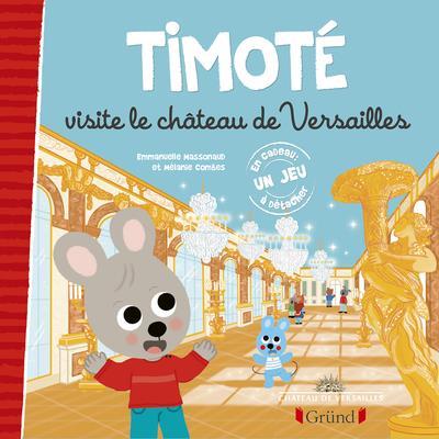 Timote visite le chateau de versailles
