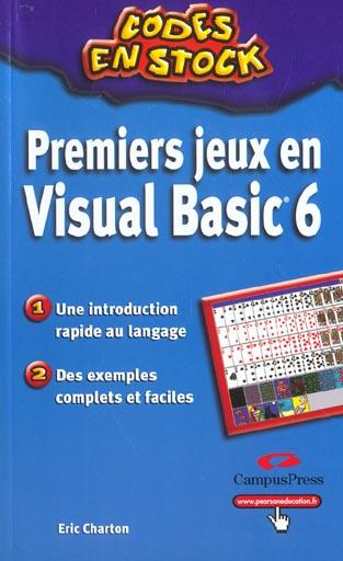 Premier jeux en visual basic 6