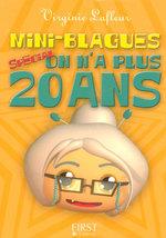 Vente EBooks : Mini blagues spécial on n'a plus vingt ans  - Virginie LAFLEUR