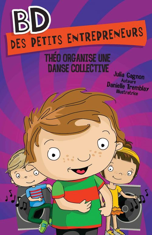 Theo organise une danse collective
