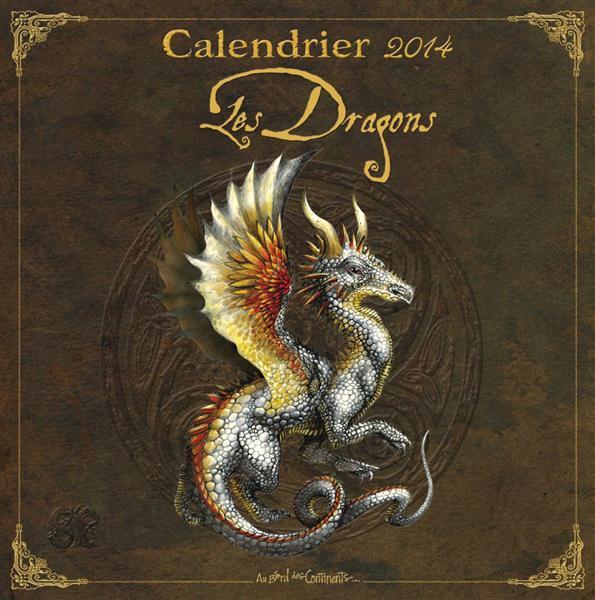 Calendrier les dragons 2014