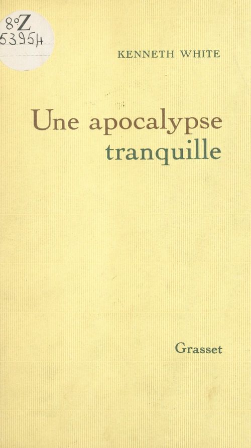 Une apocalypse tranquille