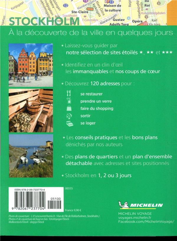Le guide vert week-end ; Stockholm (édition 2019)