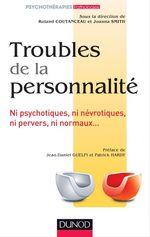 Vente Livre Numérique : Troubles de la personnalité  - Roland Coutanceau - Joanna Smith