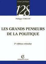 Vente Livre Numérique : Les grands penseurs de la politique  - Philippe Corcuff