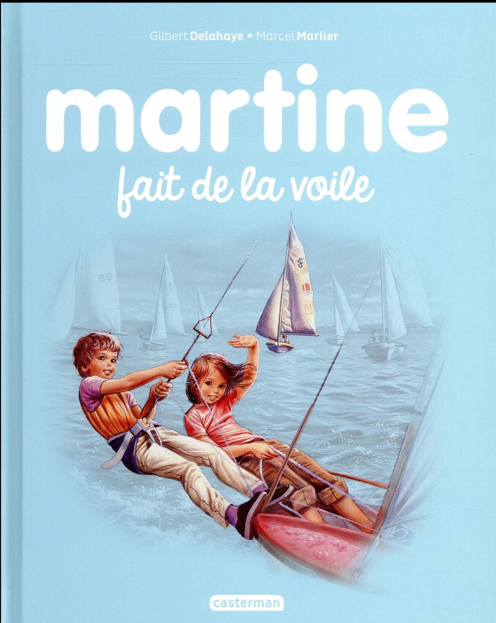 Martine T.28 ; Martine fait de la voile