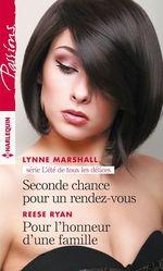 Vente Livre Numérique : Seconde chance pour un rendez-vous - Pour l'honneur d'une famille  - Lynne Marshall - Reese Ryan