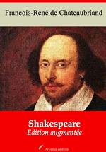 Vente Livre Numérique : Shakespeare - suivi d'annexes  - François-René de Chateaubriand