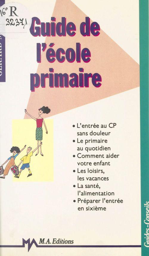 Guide de l'ecole primaire
