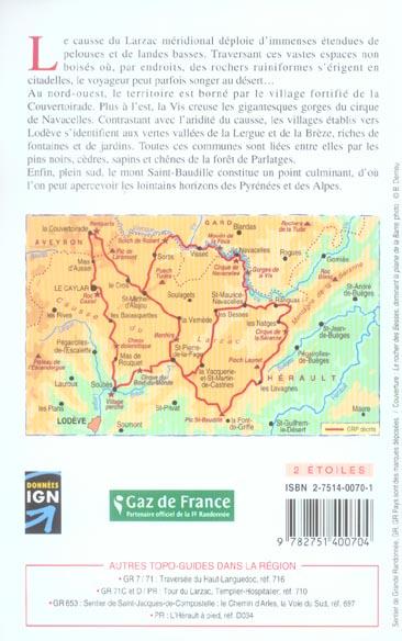 Tour du larzac meridional 2005 - 34 - grp - 734