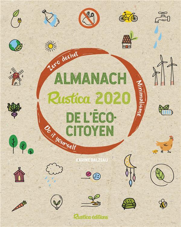 Almanach Rustica de l'écocitoyen (édition 2020)