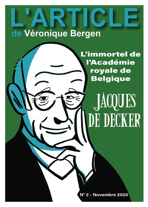 Jacques De Decker :