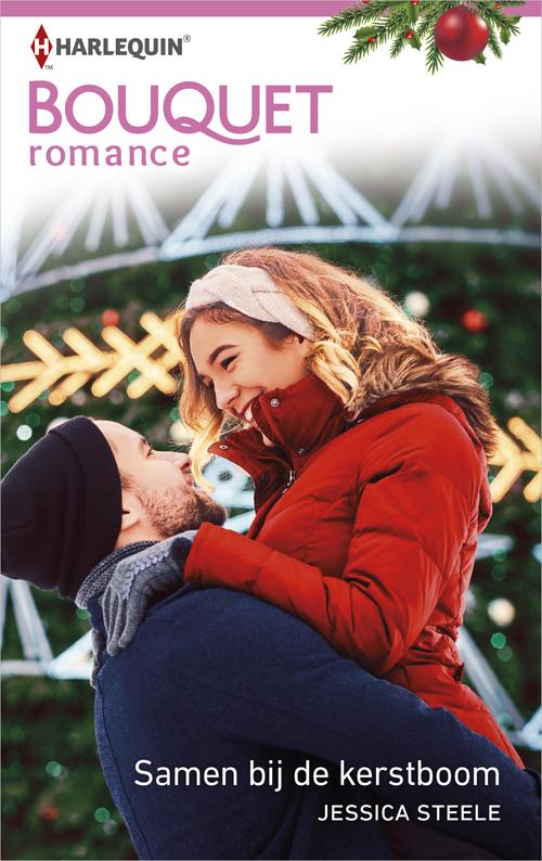 Samen bij de kerstboom