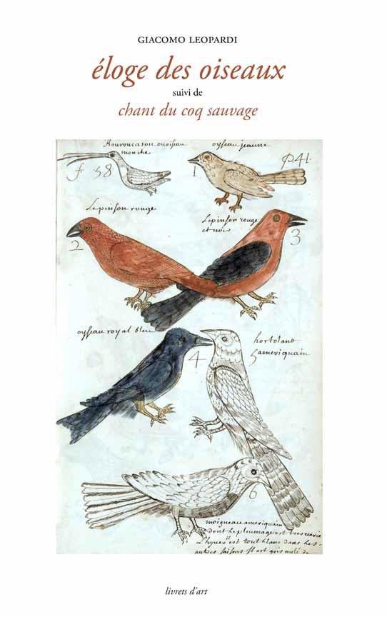 éloge des oiseaux ; chant du coq sauvage