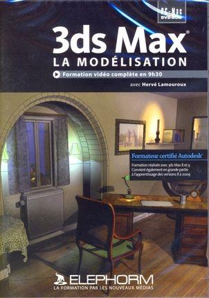 Apprendre 3ds Max. La Modelisation. Formation Video Completede 9h30