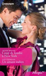 Vente Livre Numérique : Coup de foudre à New York - Un amant italien  - Lucy Gordon