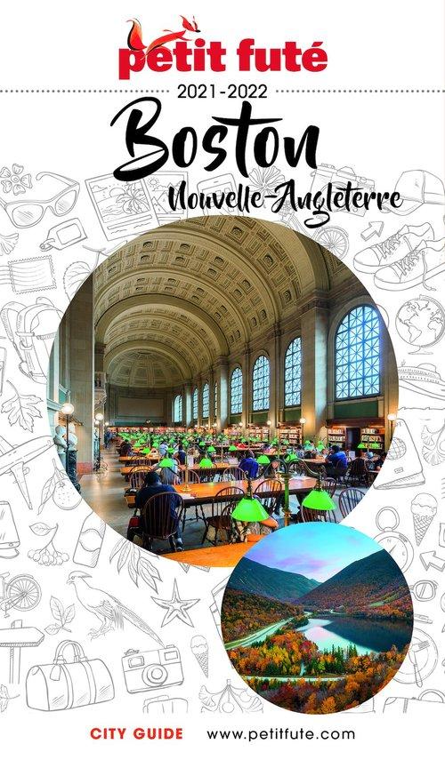 Vente Livre Numérique : BOSTON NOUVELLE ANGLETERRE 2021/2022 Petit Futé  - Dominique Auzias  - Jean-Paul Labourdette
