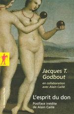 Vente EBooks : L'esprit du don  - Alain CAILLÉ - Jacques T. GODBOUT