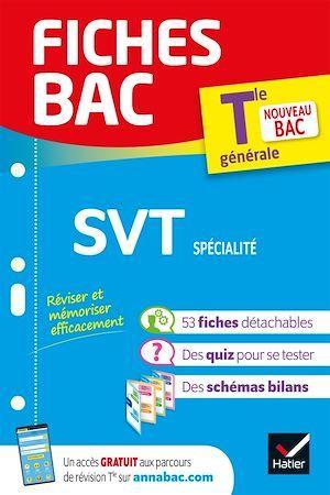Fiches bac ; SVT spécialité ; terminale