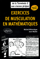 Exercices De Musculation En Mathematiques De La Terminale S Aux Classes Prepas Nouvelle Edition