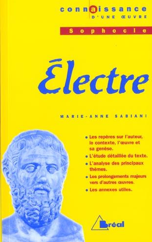 Electre, de Sophocle