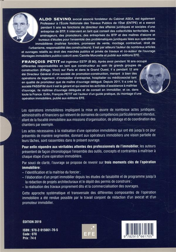 Montages d'opérations immobilières (8e édition)