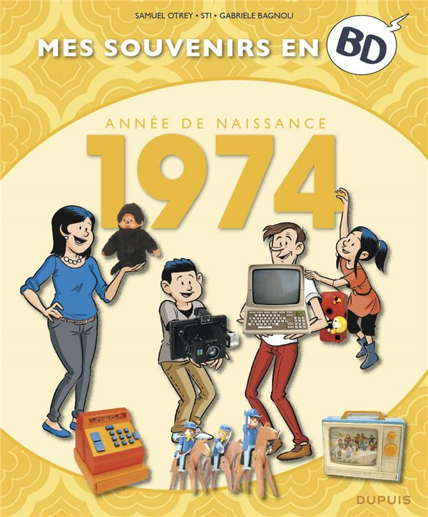 mes souvenirs en BD t.35 ; 1974