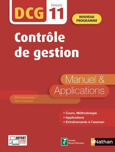 COUCOUREUX, MICHEL  - DCG  -  EPREUVE 11  -  CONTROLE DE GESTION (EDITION 2019)