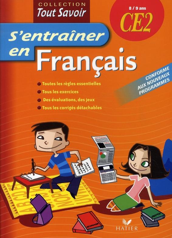 S'Entrainer En Francais Ce2