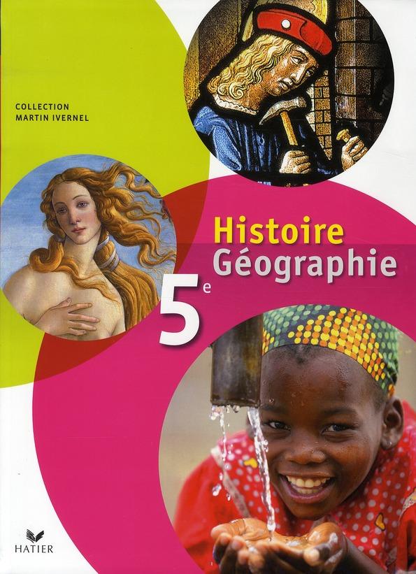 Histoire-Geographie ; 5eme ; Livre De L'Eleve