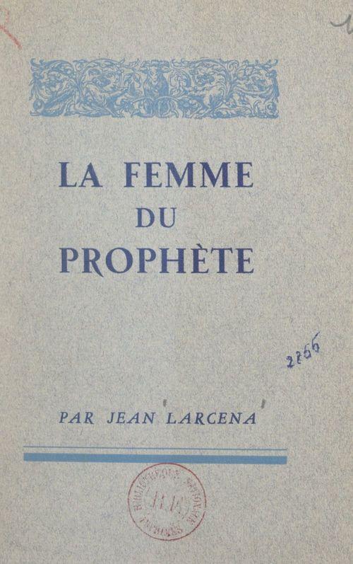 La femme du prophète
