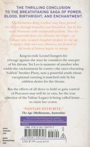 King's Wrath ; Valisar Trilogy: Book 3