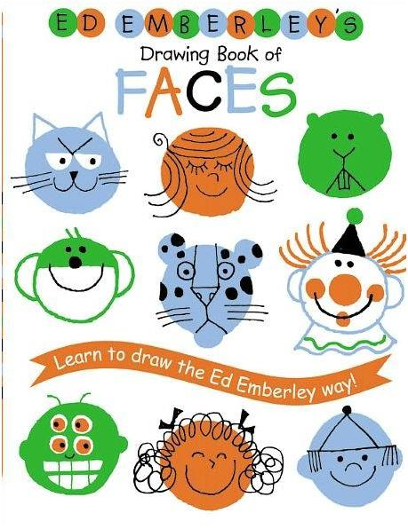 Ed emberley drawing book faces