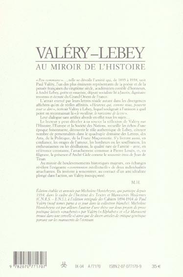 Les cahiers de la NRF ; au miroir de l'histoire ; choix de lettre ; 1895-1938