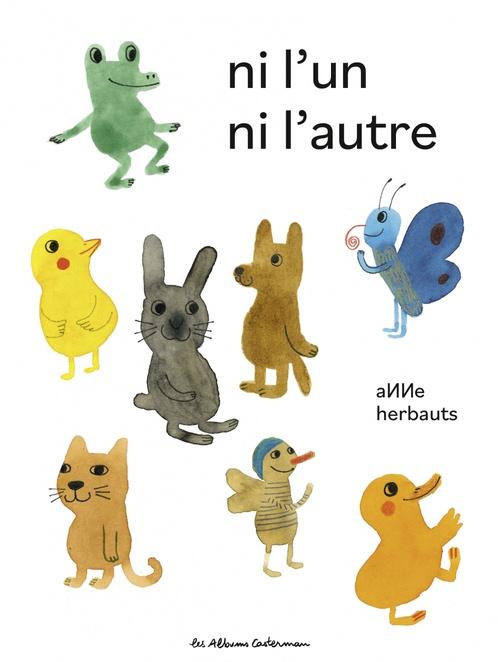 Vente EBooks : Ni l'un ni l'autre  - Anne Herbauts
