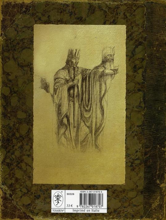 Cahier de croquis du Seigneur des anneaux