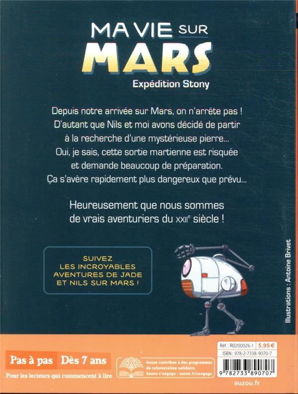 Ma vie sur Mars T.3 ; expédition stony