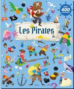 LES PIRATES - 400 AUTOCOLLANTS