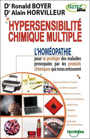 Hypersensibilité ; chimique multiple