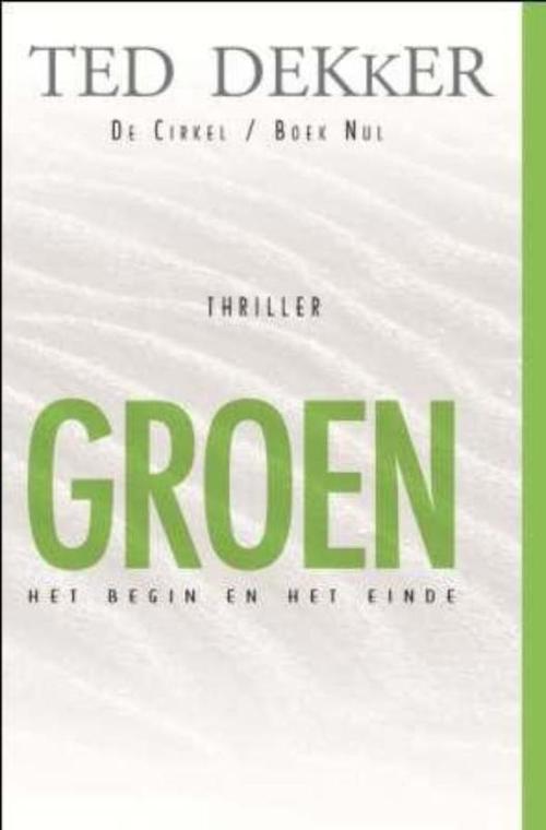 De cirkel - Boek nul Groen