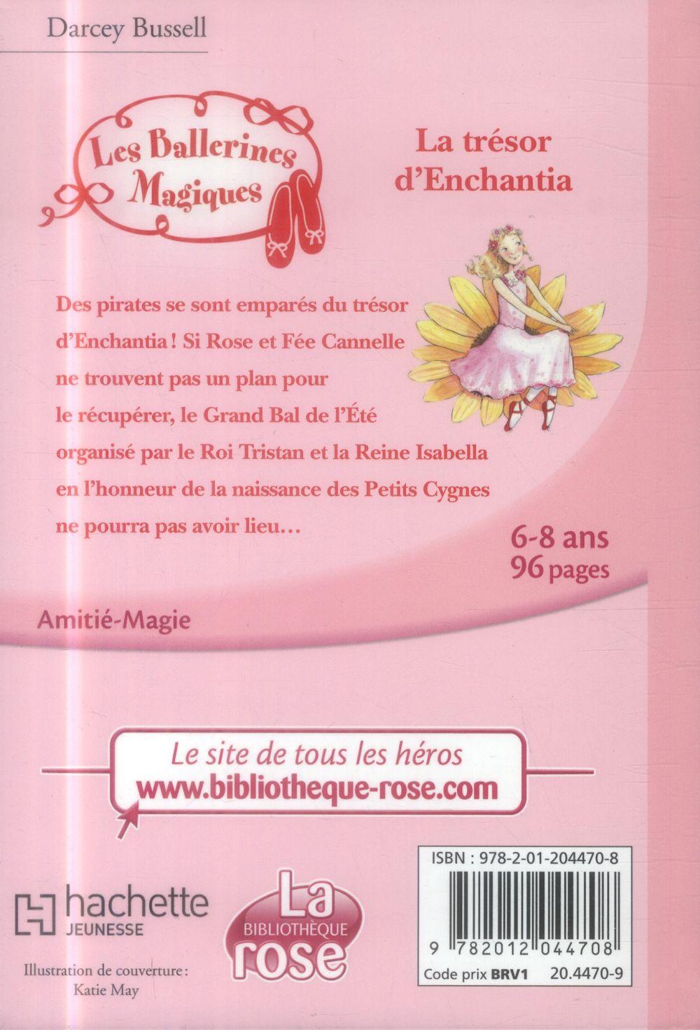 Les ballerines magiques t.25 ; le trésor d'Enchantia