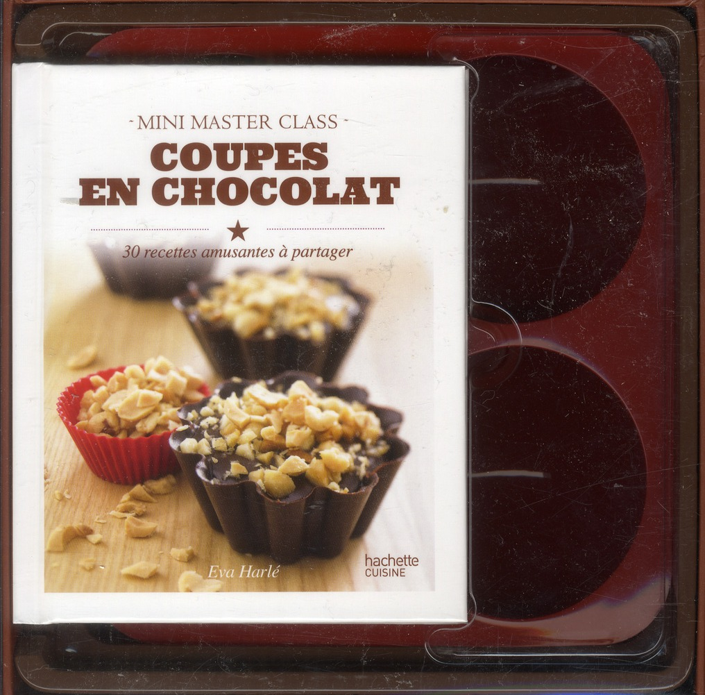 Coupes en chocolat ; coffret mini master class