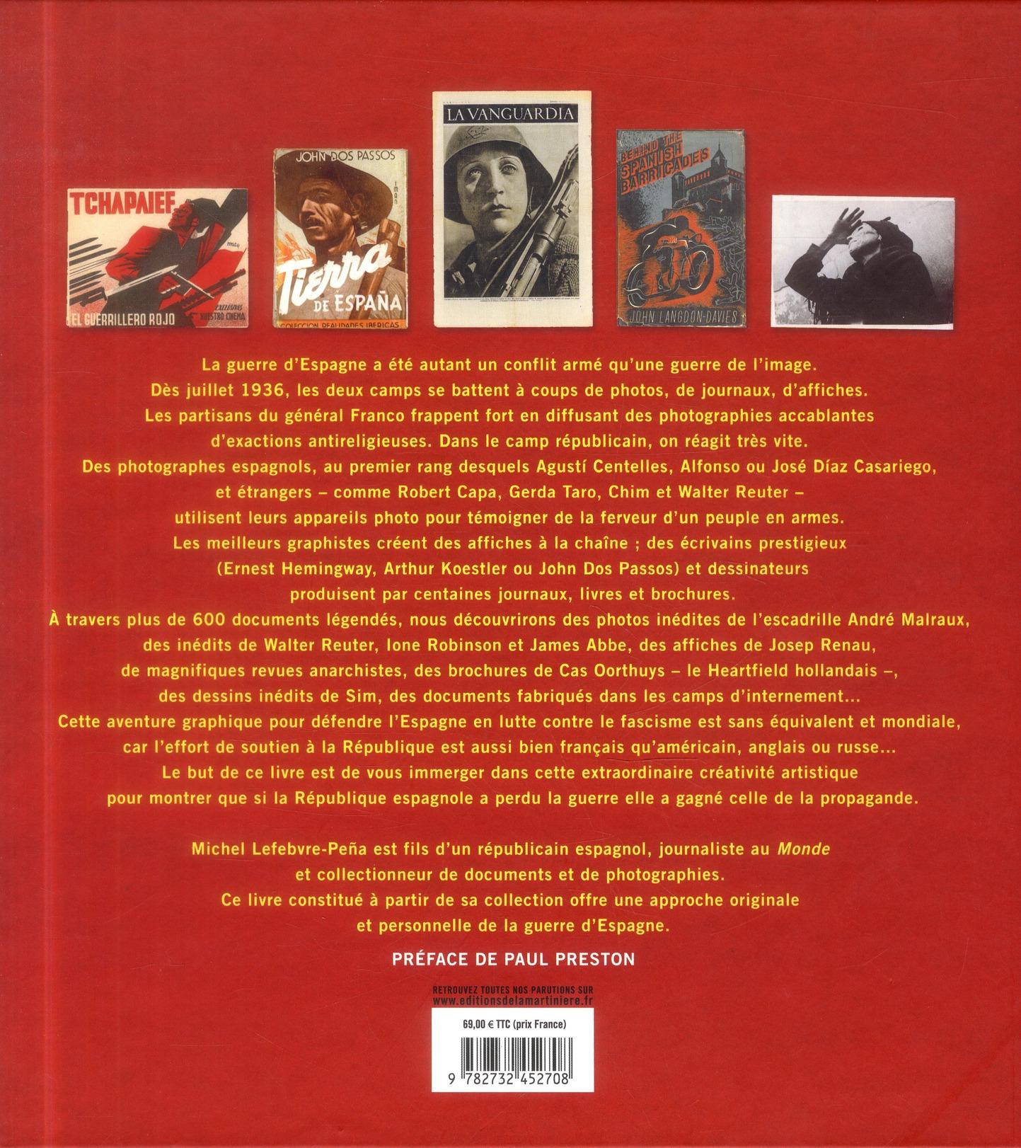 Guerra grafica ; photographes, artistes et écrivains en guerre ; Espagne, 1936-1939